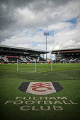 General view of Craven Cottage ahead of the Sky Bet Championship match between Fulham and Middlesbrough at Craven Cottage on April 25 2015 in London...
