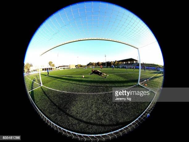General view of Cromer Park prior to the NSW NPL 1 Elimination Final between Manly United FC and Sydney Olympic FC at Cromer Park on August 19 2017...