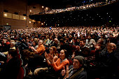 A general view of crowd atmosphere at 'The Bronze' Premiere at the Eccles Center Theatre during the 2015 Sundance Film Festival on January 22 2015 in...