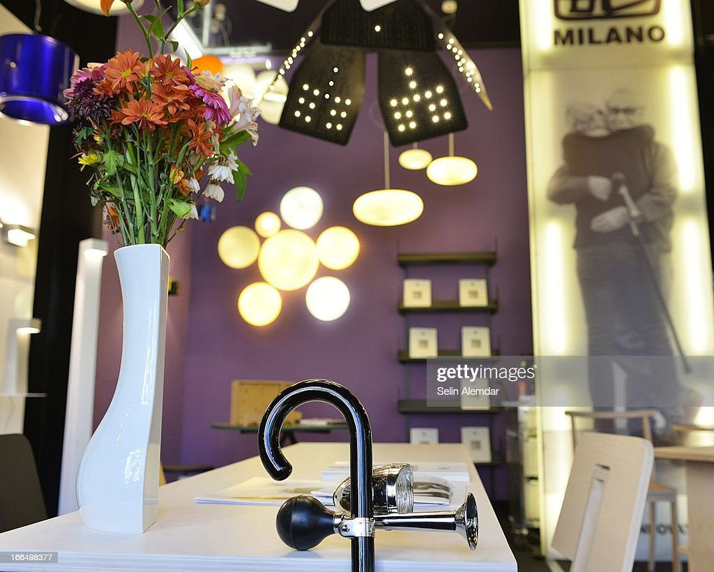 A general view of Danese Milano at Porta Venezia as part of 2013 Milan Design Week on April 13, 2013 in Milan, Italy.