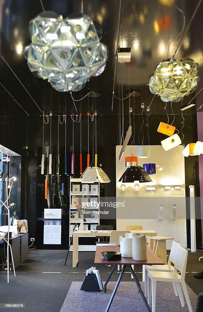 A general view of Danese Milano at Porta Venezia as part of 2013 Milan Design Week on April 13, 2013 in Milan, Italy.