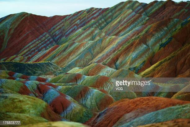 zhangye muslim Rainbow mountains in winter - gansu forum asia  china   zhangye and that part of gansu are normally very dry in the winter,  rainbow mountains in.