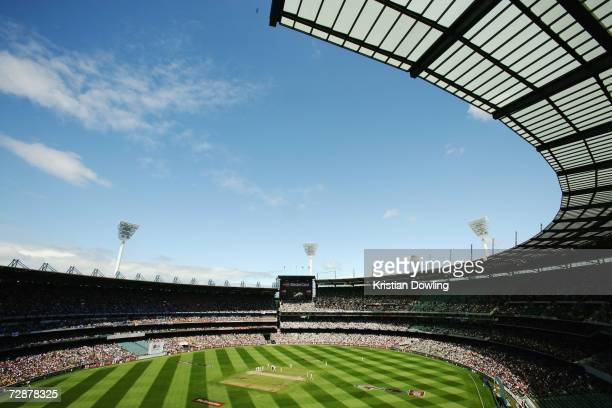 A general view of day two of the fourth Ashes Test Match between Australia and England at the Melbourne Cricket Ground on December 27 2006 in...