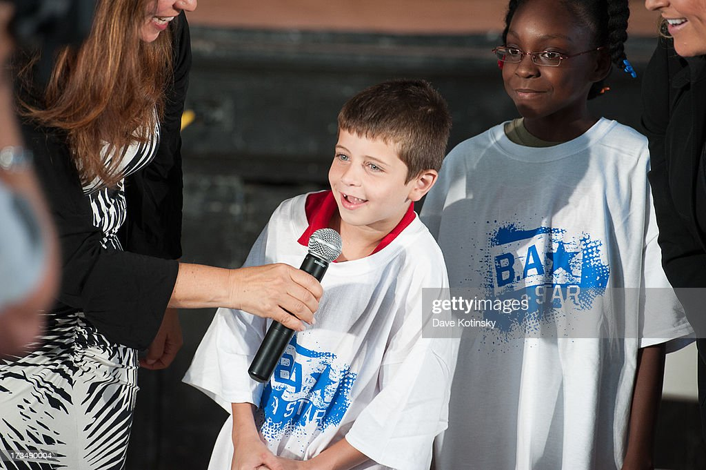 A general view of deliver an anti-bullying message at Ironbound Boys And Girls Club on July 15, 2013 in Newark, New Jersey.