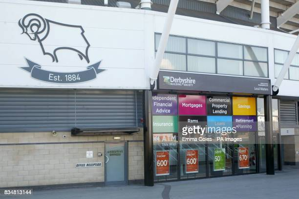 A general view of Derbyshire Building Society located at Pride Park Stadium Mortgage lender Nationwide said it was in advanced merger talks with the...