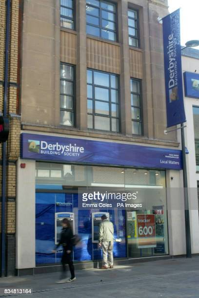 A general view of Derbyshire Building Society located in Derby City Centre Mortgage lender Nationwide said it was in advanced merger talks with the...