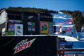 Winter Dew Tour Media Ride With Mountain Dew...