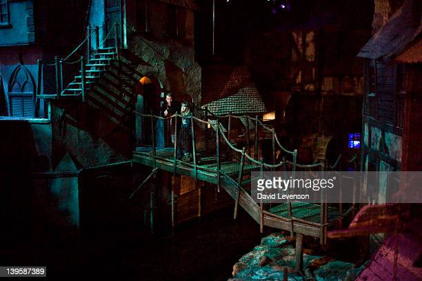A general view of Dickens World on January 62012 in ChathamKent Opened in 2007 Dickens World is a Dickens themed indoor attraction offering a...
