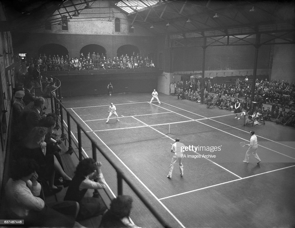 Tennnis International Covered Courts Lawn Tennis England v