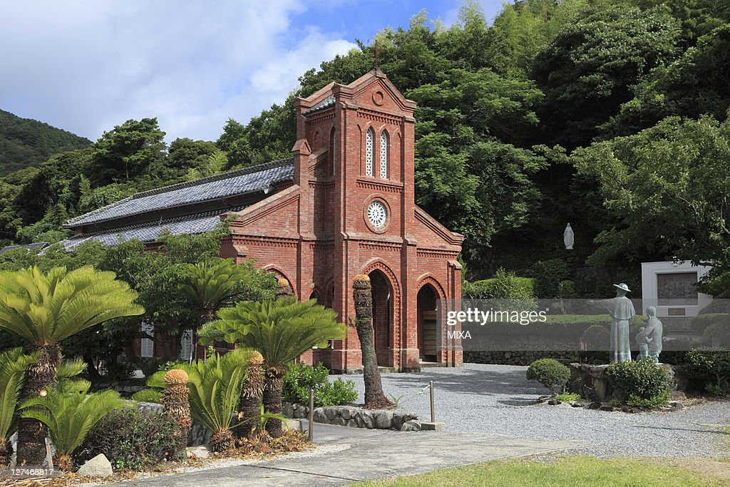 A general view of Douzaki Church on July 22, 2010 in Goto, Nagasaki, Japan.