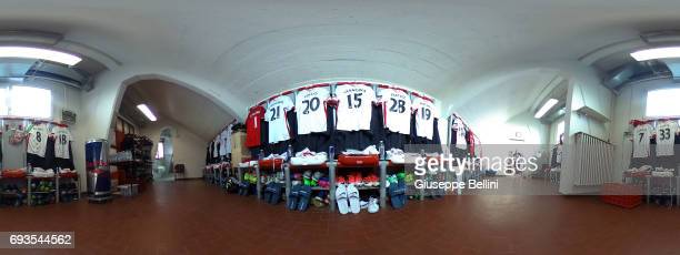 General view of dressing room of Carpi FC prior the Serie B Palyoff Final between Carpi FC and Benevento Calcio at Stadio Sandro Cabassi on June 4...