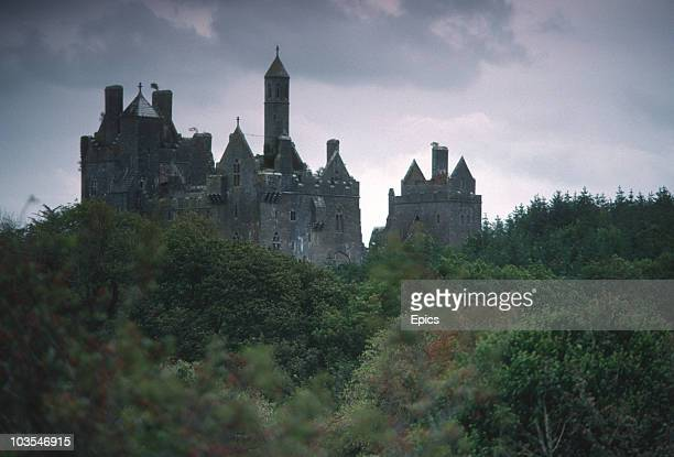 A general view of Dromore Castle Templenoe County Limerick August 1990 Dromore Castle was designed and built for Denis Mahony by the architect Thomas...