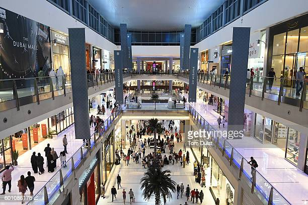 A general view of Dubai Mall ahead of Eid celebrations on September 9 2016 in Dubai United Arab Emirates Muslims across the world are preparing to...