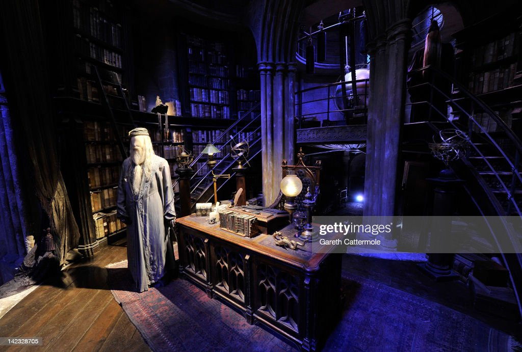 A General View Of Dumbledoreu0027s Office On The Set Of Harry Potter At The  Warner Bros