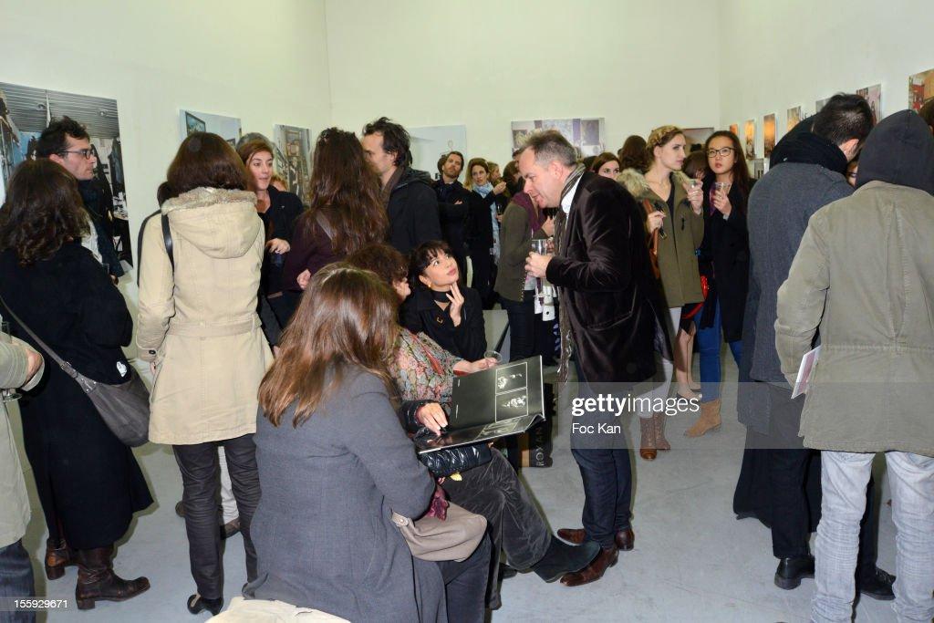 A general view of during 'Les Parisiennes' - Photo Exhibition Preview at Galerie Clementine De La Feronniere on November 8, 2012 in Paris, France.