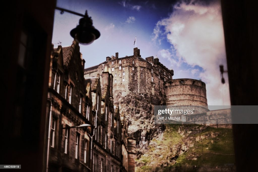 A general view of Edinburgh Castle on April 23, 2014 in Edinburgh, Scotland. A referendum on whether Scotland should be an independent country will take place on September 18, 2014.