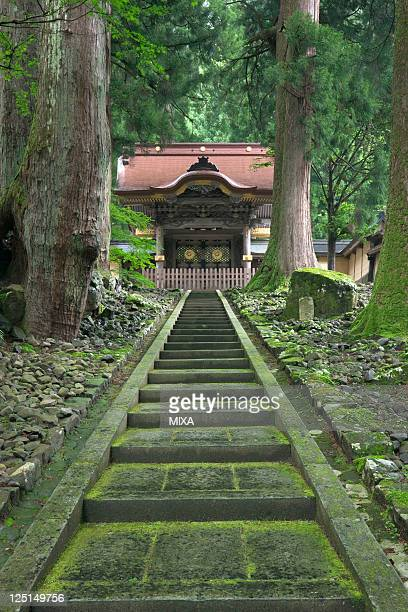 A general view of Eiheiji Temple on May 24 2009 in Fukui Japan