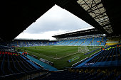 A general view of Elland Road Stadium prior to kick off in the Sky Bet Championship League match between Leeds United and Bolton Wanderers at Elland...