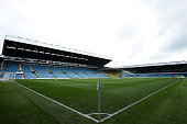 A general view of Elland Road Stadium prior to the Sky Bet Championship match between Leeds United and Brighton Hove Albion at Elland Road on October...