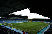 A general view of Elland Road Stadium prior to the Sky Bet Championship League match between Leeds United FC and Hull City FC on December 5 2015 in...