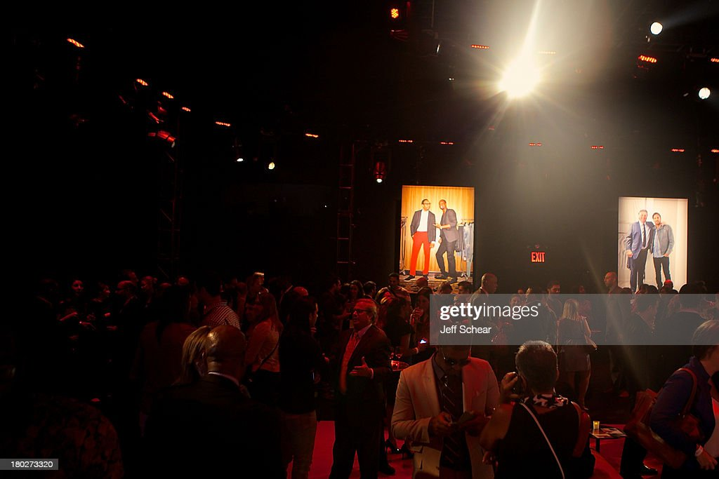 A general view of ESPN Fashion Week - Revenge of the Jocks at The Box at Lincoln Center on September 10, 2013 in New York City.