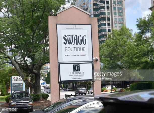 General View of EveryHue PopUp Shop at Swagg Boutique on July 13 2017 in Atlanta Georgia