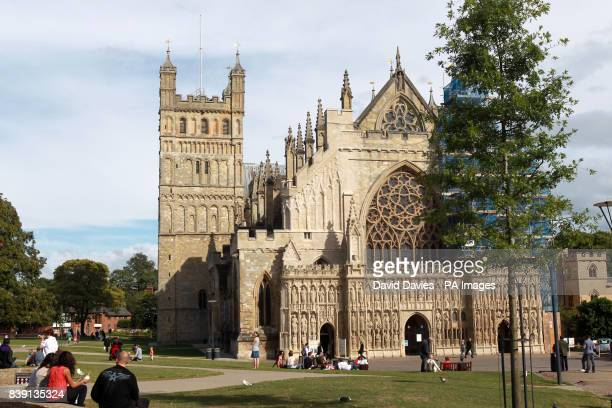 A general view of Exeter Cathedral