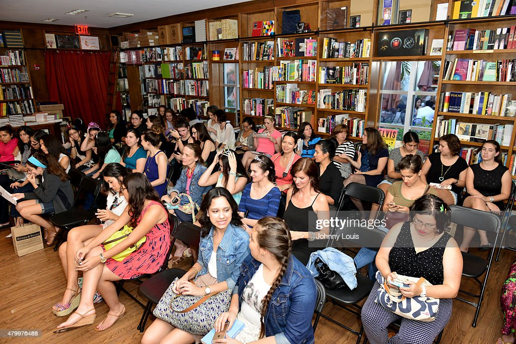 General view of fans during Author Meg Cabot greets fans and signs copies of her book 'Royal Wedding: A Princess Diaries Novel' at Books And Books on July 01, 2015 in Coral Gables, Florida.
