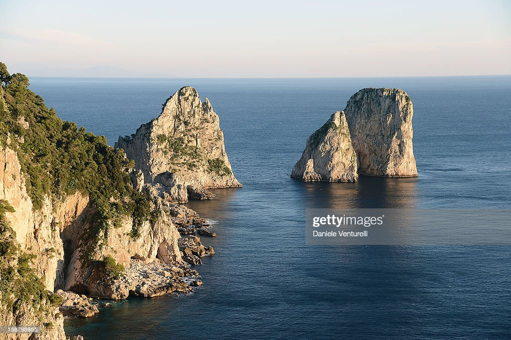 General view of Faraglioni during Day 4 of the 2012 Capri Hollywood Film Festival on December 29, 2012 in Capri, Italy.