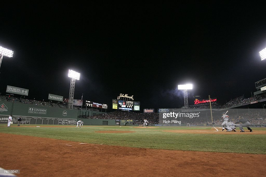 A general view of Fenway Park during Game Two of the 2007 World Series between the Colorado Rockies and Boston Red Sox on October 25, 2007 at Fenway Park in Boston, Massachusetts. The Red Sox defeated the Rockies 2-1.