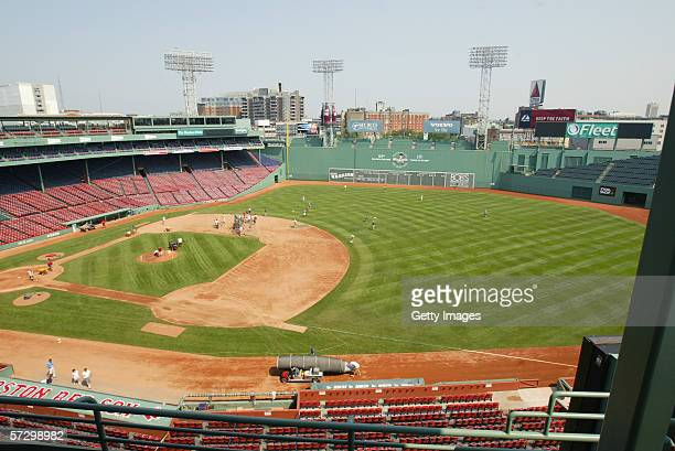 General view of Fenway Park taken on July 01 2004 in Boston Massachusetts