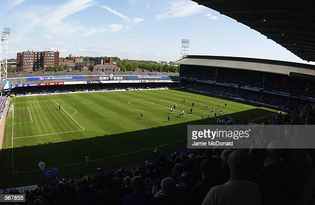 General view of Filbert Street as it hosts it's last football match before Leicester City move to their new ground for the start of next season...
