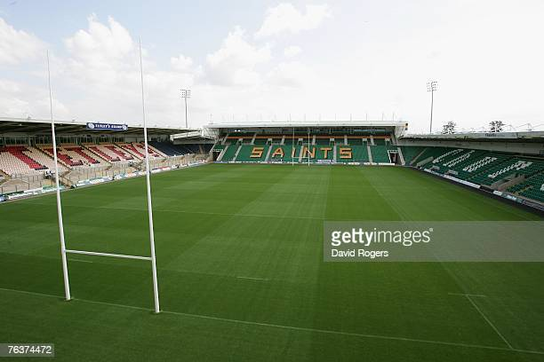 A general view of Franklin's Gardens home of Northampton Saints on August 29 2007 in Northampton England