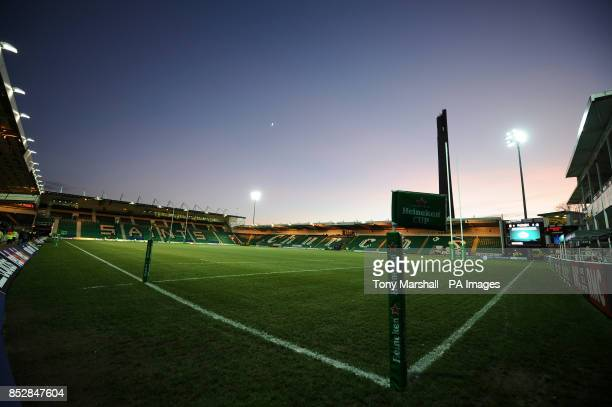 A general view of Franklins Gardens home of Northampton Saints