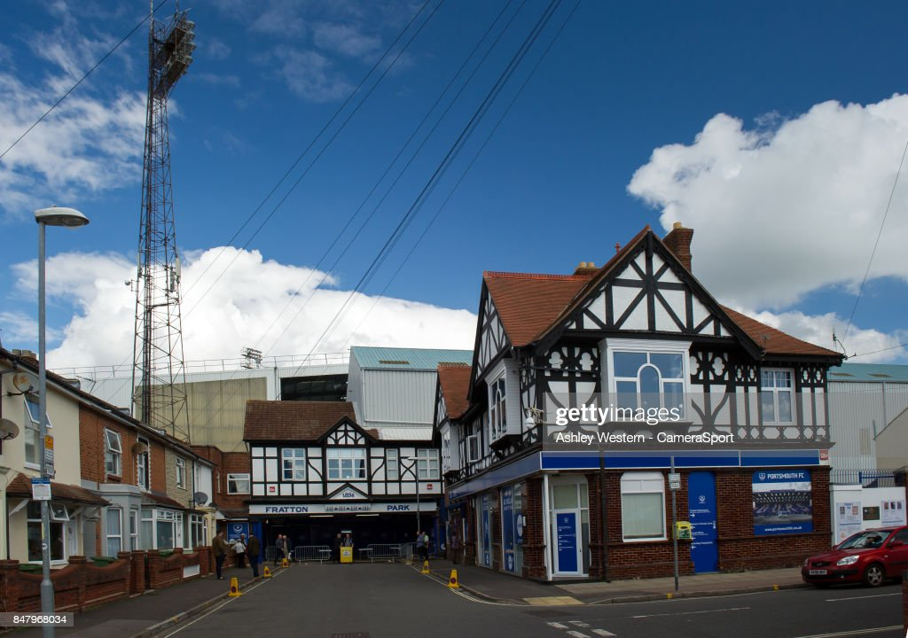 A General View Of Fratton Park Home Portsmouth FC During The Sky Bet League