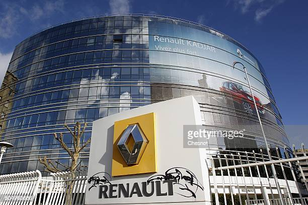 A general view of French carmaker Renault headquarters on January 14 2016 in BoulogneBillancourt France Shares in French carmaker Renault dived on...