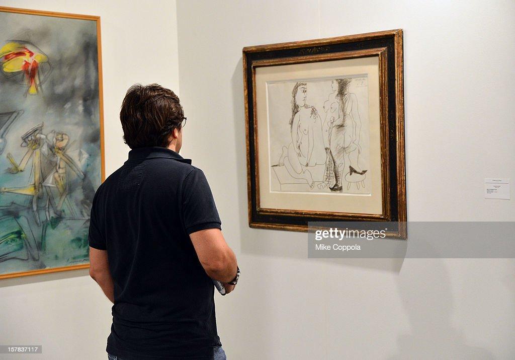 A general view of Galeria Guillermo de Osma at Art Basel Miami Beach 2012 at the Miami Beach Convention Center on December 6, 2012 in Miami Beach, Florida.