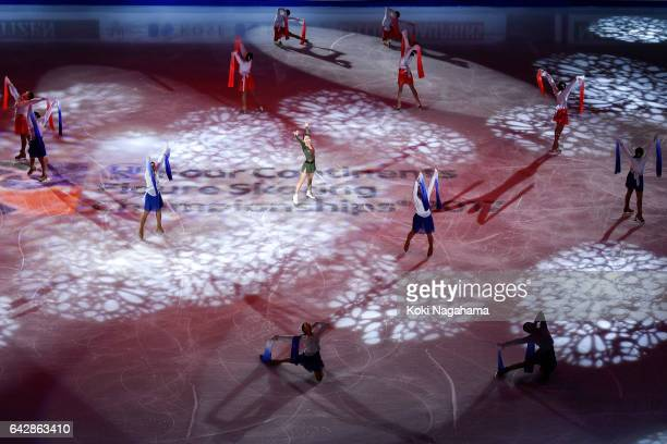A general view of Gangneung Ice Arena during in the Exhibition program in ISU Four Continents Figure Skating Championships Gangneung Test Event For...
