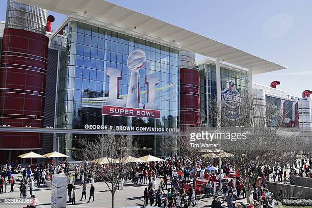 A general view of George R Brown Convention Center during Super Bowl LIVE on January 29 2017 in Houston Texas