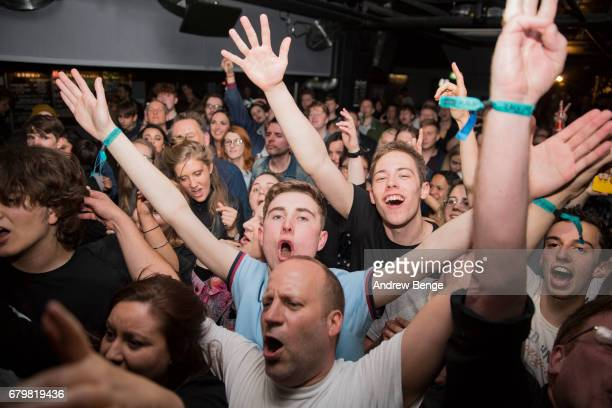 General view of Get Inuit performing at The Key Club during Live At Leeds on April 29 2017 in Leeds England Live at Leeds is a music festival that...