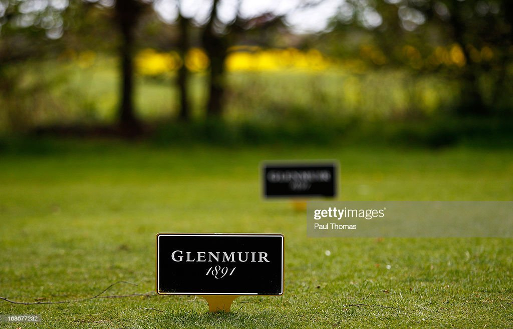 A general view of Glenmuir branding during the Glenmuir PGA Professional Championship North East Regional Qualifier at Fulford Golf Club on May 13, 2013 in York, England.