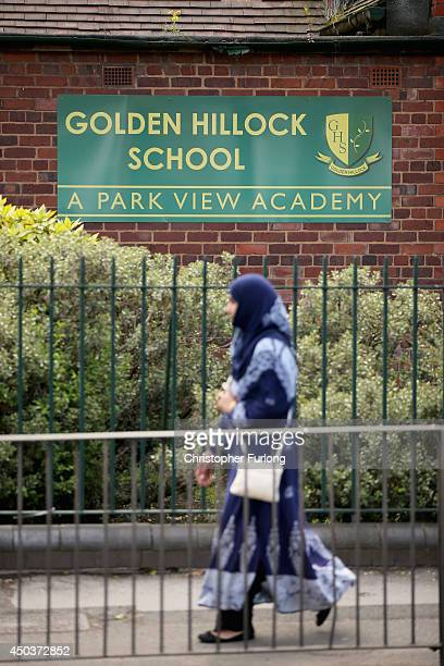 A general view of Golden Hillock School one of the Birmingham Schools at the centre of the 'Trojan Horse' inquiry on June 10 2014 in Birmingham...