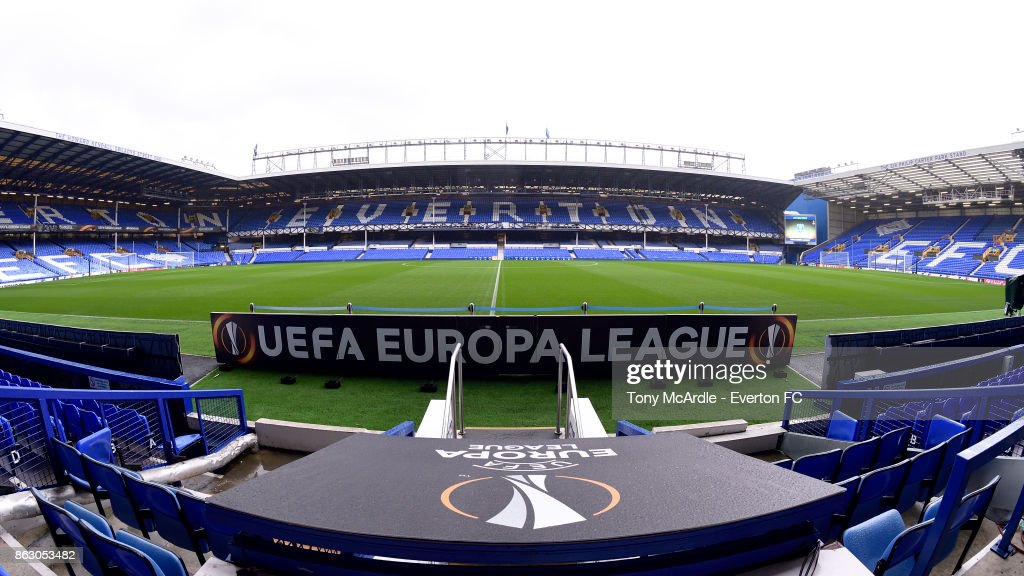 Everton FC v Olympique Lyon - UEFA Europa League