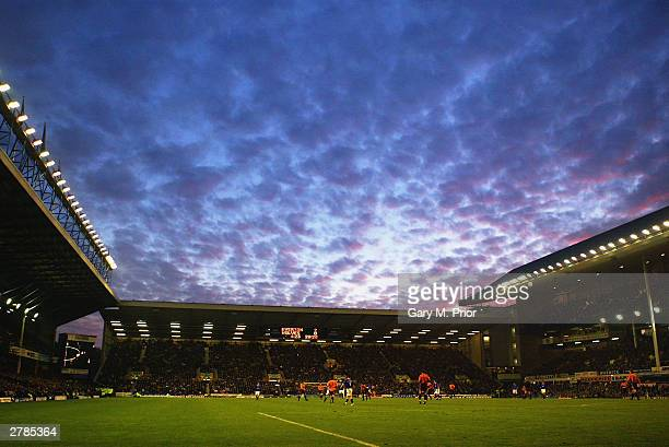 A general view of Goodison Park during the FA Barclaycard Premiership match between Everton and Wolverhampton Wanderers on November 22 2003 at...