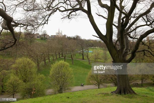 A general view of Greenwich Park which will be used as the venue for the Equestrian and Modern Pentathlon events and the Paralympic Dressage...