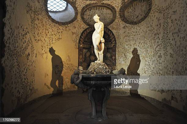 A general view of Grotta del Buontalenti inside the Boboli Gardens on June 8 2013 in Florence Italy The latest book by the American writer Dan Brown...