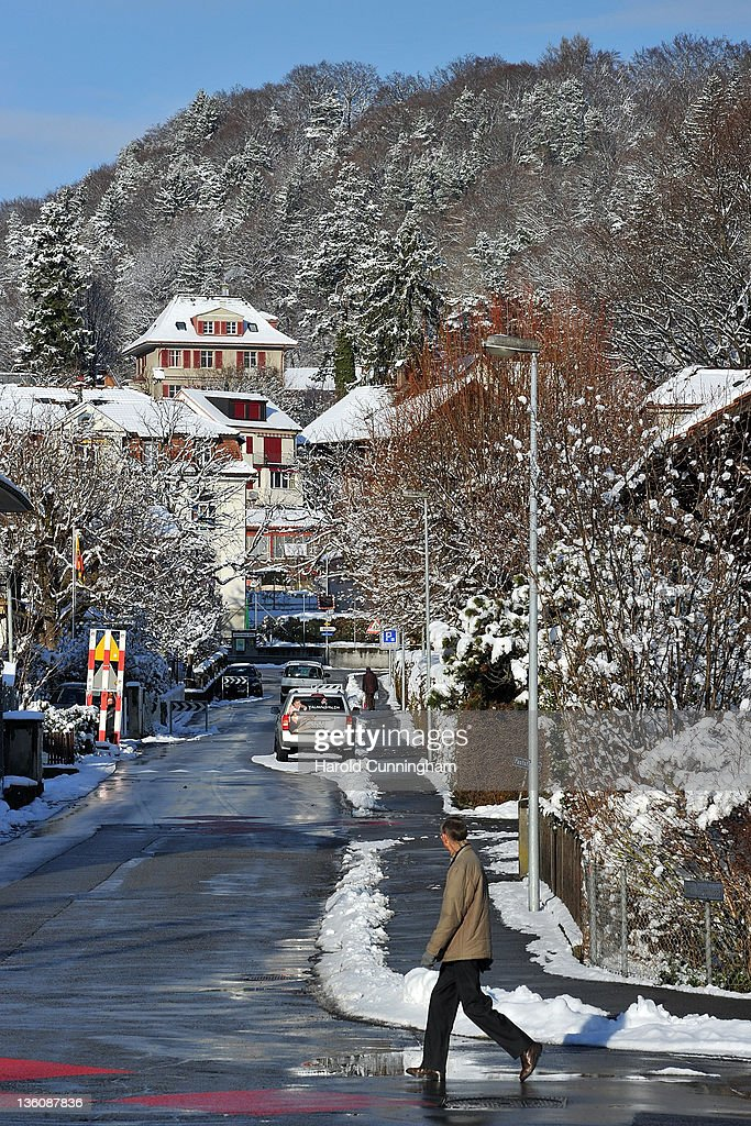 A general view of Guemligen, location of the International School of Berne, is seen on December 19, 2011 in Guemligen, Berne, Switzerland. Following the death of North Korean leader Kim Jong-il of a heart attack on 17 December, 2011 at the age of 69, his third son Kim Jong-Un is expected to succeed his father. Kim Jong-Un is believed to have studied at the International School of Berne, under a pseudonym, which provides education for 280 students of diplomatic, academic and business families of over 40 nationalities.
