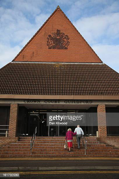 A general view of Guildford Crown court on February 15 2013 in Guildford England NDubz singer Costadinos Contostavlos aka Dappy is due to be...
