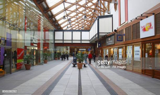 General view of Gunwharf Quays outlet shopping centre in Portsmouth