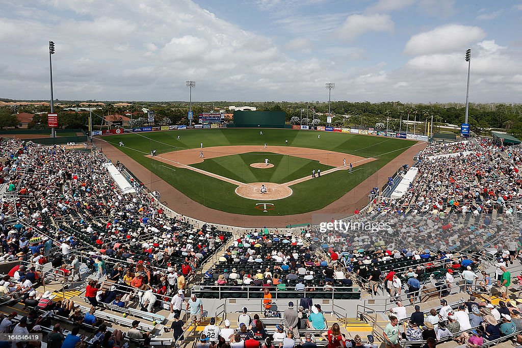 A general view of Hammond Stadium during a Grapefruit League Spring Training Game between the Minnesota Twins and the Toronto Blue Jays on March 24...